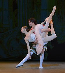The Russian Ballet Icons 10th Anniversary Gala rehearsals at The London Coliseum on Sunday 8 March 2015