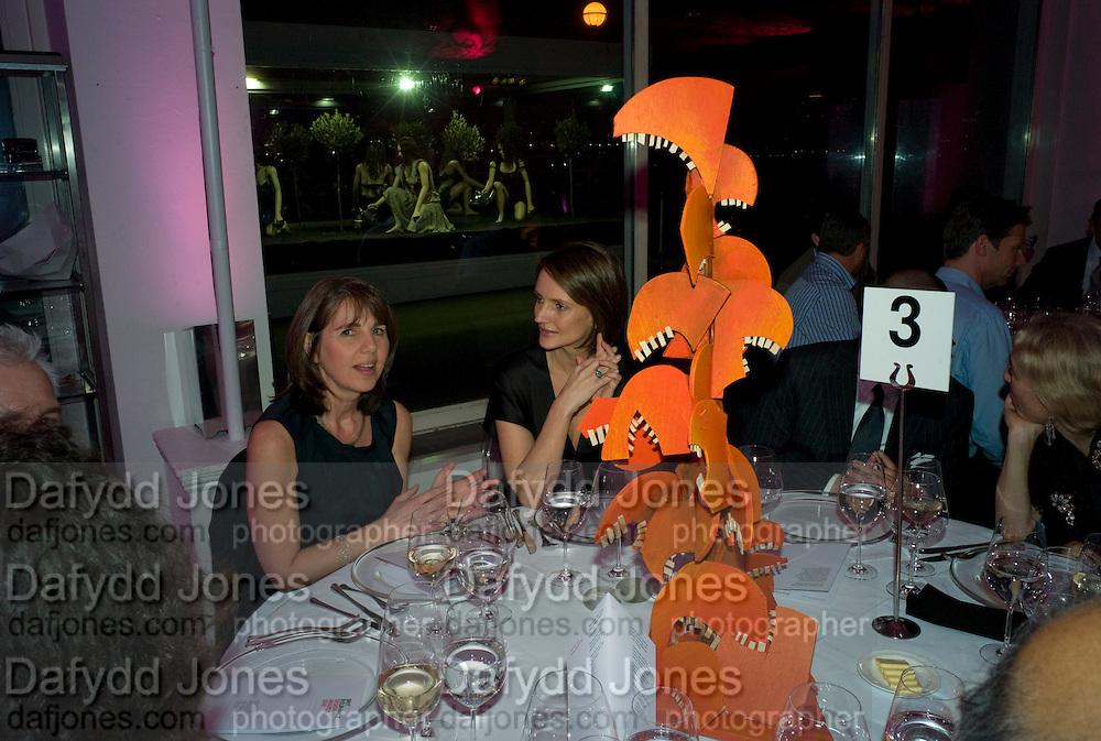 SARAH MILLER; SAFFRON ALDRIDGE; , brit Insurance Design Awards 2009. Design Museum. London. 18 March 2009. *** Local Caption *** -DO NOT ARCHIVE-© Copyright Photograph by Dafydd Jones. 248 Clapham Rd. London SW9 0PZ. Tel 0207 820 0771. www.dafjones.com.<br /> SARAH MILLER; SAFFRON ALDRIDGE; , brit Insurance Design Awards 2009. Design Museum. London. 18 March 2009.