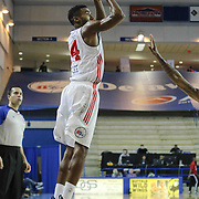 Delaware 87ers Forward Malcolm Lee (14) take a jump shot in the first half of a NBA D-league regular season basketball game between the Delaware 87ers and the Rio Grande Valley Vipers (Houston Rockets) Saturday, Dec. 27, 2014 at The Bob Carpenter Sports Convocation Center in Newark, DEL