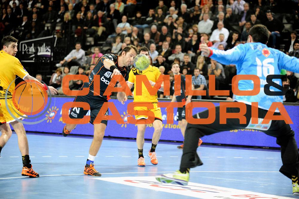DESCRIZIONE : France Hand D1 Championnat de France D1 a Montpellier Park Suite Arena<br /> GIOCATORE : Bojinovic Mladen<br /> SQUADRA : Montpellier<br /> EVENTO : FRANCE Hand D1<br /> GARA : Montpellier Chambery<br /> DATA : 01/03/2012<br /> CATEGORIA : Hand D1 <br /> SPORT : Handball<br /> AUTORE : JF Molliere <br /> Galleria : France Hand 2011-2012 Action<br /> Fotonotizia : France Hand D1 Championnat de France D1 a Montpellier<br /> Predefinita :