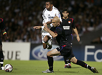 Fotball, 13. september 2005, Campions League, Lyon - Real Madrid 3-0,<br /> ROBINHO (REAL) / CRIS (LYON) <br /> <br /> NORWAY ONLY