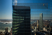 NEW YORK, NY - FEB 27, 2015: A view of a building across the street from Susan Axelrod's Financial Industry Regulatory Authority (FINRA) office located downtown, Manhattan. CREDIT: Emon Hassan for The New York Times