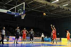 Bristol Flyers' Siman Stewart - Photo mandatory by-line: Dougie Allward/JMP - Mobile: 07966 386802 - 31/10/2014 - SPORT - Football - Worcester - Worcester Arena - Worcester Wolves v Bristol Flyers - British Basketball League Cup