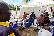 19 patients recover from Cholera at Musina Hospital in South Africa with the aid of intravenous fluids...There were 664 confirmed cases of Cholera at the border town of Musina in South Africa. Officially the outbreak is under control, with the confirmed number of deaths from Cholera at 8 people. 51 of those admitted to the hospital have been under the age of 5 years old...Limpopo Health department has been working closely with IRC, Save the Children (UK), WHO and MSF to bring the outbreak under control through treatment and education programs in bordering villages and at the main IDP camp at Musina Showground..