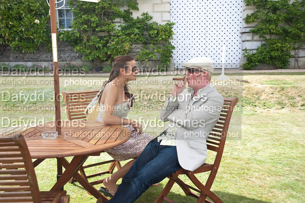 NATASHA EVANS; CHRIS EVANS, Cartier Style et Luxe at the Goodwood Festival of Speed. Goodwood House. 5 July 2009.