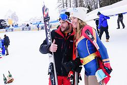 January 19, 2018 - Cortina D'Ampezzo, Dolimites, Italy - Julia Mancuso of United States of America ending her professional skiing career at the Cortina d'Ampezzo FIS World Cup in Cortina d'Ampezzo, Italy on January 19, 2018. (Credit Image: © Rok Rakun/Pacific Press via ZUMA Wire)
