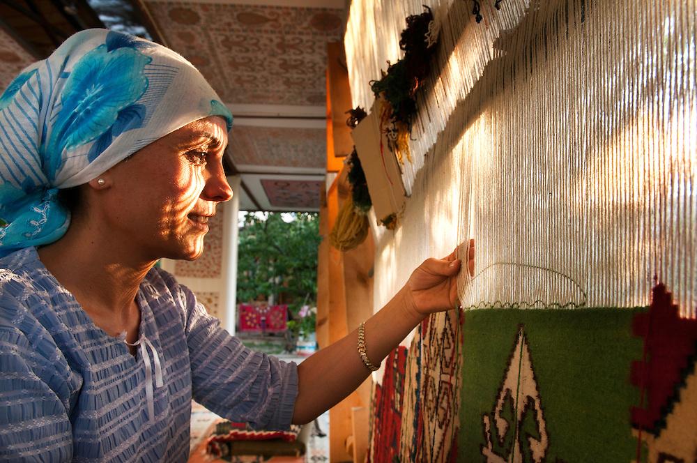 The Art of Weaving. <br /> Goreme, Cappadocia, Turkey.