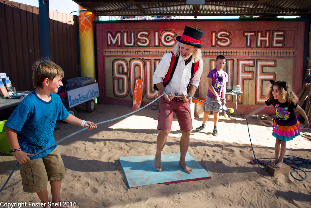 October 6-9, 2016 - 11th annual fall Joshua Tree Music Festival at Joshua Tree Lake Campground in Joshua Tree, California.