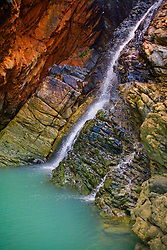 Turtle Falls in Dugong Bay on the Kimberley coast.
