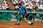 Paris, France. June  1st 2009. .Roland Garros - Tennis French Open. .French player Jo Wilfried Tsonga against Juan Martin Del Potro