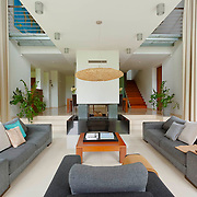 Modern Swidermajer style home near Warsaw Poland