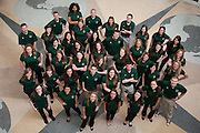 Bobcat Student Orientation staff 2014.  Photo by Ohio University / Jonathan Adams