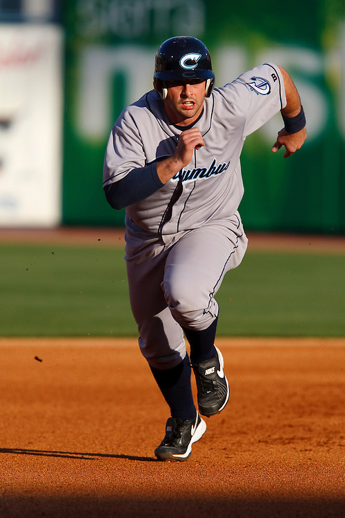 April 16, 2009:  #30 Wyatt Toregas of the Columbus Clippers in action during the MiLB game between Columbus Clippers and Detroit Toledo Mudhens at Fifth Third Field in Toledo, Ohio. Columbus defeated the Mudhens 2-1. (Credit Image: © Rick Osentoski/Cal Sport Media)