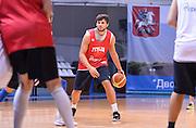 DESCRIZIONE : Qualificazioni EuroBasket 2015 - Allenamento <br /> GIOCATORE : Alessandro Gentile<br /> CATEGORIA : nazionale maschile senior A <br /> GARA : Qualificazioni EuroBasket 2015 - Allenamento<br /> DATA : 12/08/2014 <br /> AUTORE : Agenzia Ciamillo-Castoria