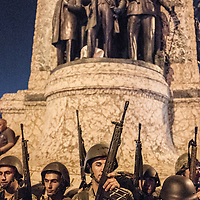 Turkish military in Taksim square