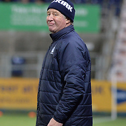 Falkirk Assistant Manager Jimmy Nicol during the championship match against Queen of the South. The Northern Irishman is widely expected to be named as the new Assistant Manager at Premiership club Rangers.<br /> <br /> (c) Dave Johnston | sportPix.org.uk