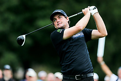September 8, 2018 - Newtown Square, Pennsylvania, United States - Keegan Bradley tees off the 11th hole during the third round of the 2018 BMW Championship. (Credit Image: © Debby Wong/ZUMA Wire)