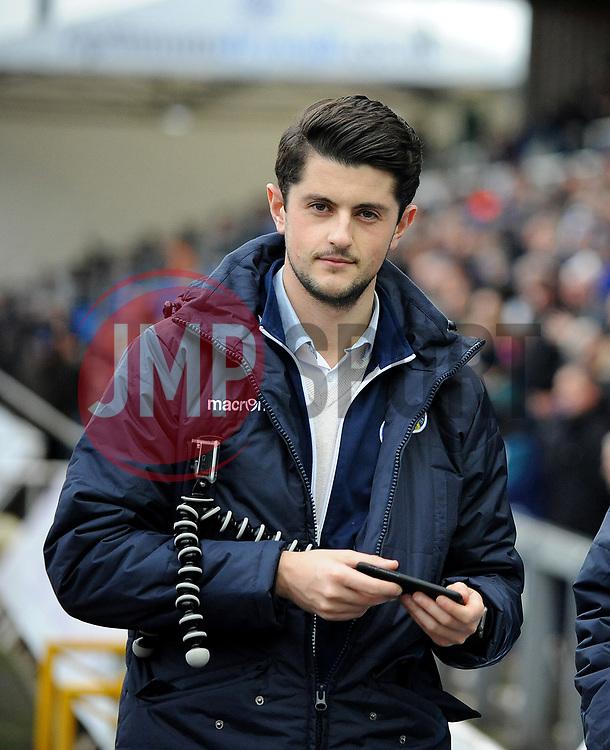 James Hayhoe, Media Dept. - Mandatory by-line: Neil Brookman/JMP - 18/11/2017 - FOOTBALL - Memorial Stadium - Bristol, England - Bristol Rovers v AFC Wimbledon - Sky Bet League One