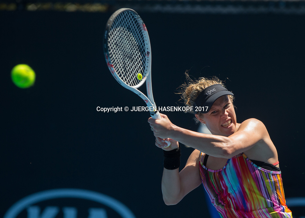 LAURA SIEGEMUND (GER)<br /> <br /> Australian Open 2017 -  Melbourne  Park - Melbourne - Victoria - Australia  - 16/01/2017.