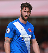 Leyton Orient striker Ollie Palmer during the Sky Bet League 2 match between Crawley Town and Leyton Orient at the Checkatrade.com Stadium, Crawley, England on 10 October 2015. Photo by Bennett Dean.