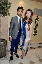 DIEGO BIVERO-VOLPE and OLIVIA GRANT at an evening of Dinner & Dancing at Daphne's, 112 Draycott Avenue, London SW3 on 24th July 2013.