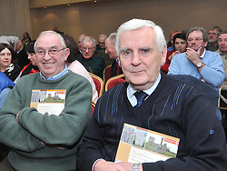 Mayo County Council's Heritage office recently held a seminar on the Care &amp; Conservation of Historic Graveyards at the Harlequin Hotel Castlebar pictured at the seminar were Michael Murphy and Noel O'Neill.<br /> Pic Conor McKeown