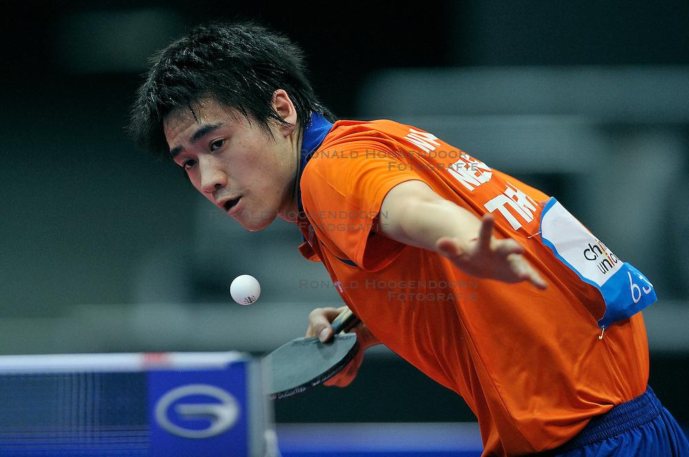 09-05-2011 TAFELTENNIS: WORLD TABLE TENNIS CHAMPIONSHIPS: ROTTERDAM<br /> Wai Lung Chung NED<br /> &copy;2011-FotoHoogendoorn.nl