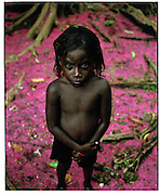 Celia (7 yrs) - Ughele Village.Rendova Island.The Solomon Islands 27/06/05.