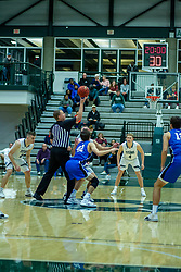 BLOOMINGTON, IL - January 04:  during a college basketball game between the IWU Titans  and the Millikin Big Blue on January 04 2020 at Shirk Center in Bloomington, IL. (Photo by Alan Look)