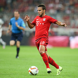 04.08.2015, Allianz Arena, Muenchen, GER, AUDI CUP, FC Bayern Muenchen vs AC Mailand, im Bild Juan Bernat (FC Bayern Muenchen #18) // during the 2015 AUDI Cup Match between FC Bayern Muenchen and AC Mailand at the Allianz Arena in Muenchen, Germany on 2015/08/04. EXPA Pictures &copy; 2015, PhotoCredit: EXPA/ Eibner-Pressefoto/ Sch&uuml;ler<br /> <br /> *****ATTENTION - OUT of GER*****