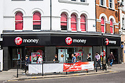 A Virgin money high street branch, Enfield, London.