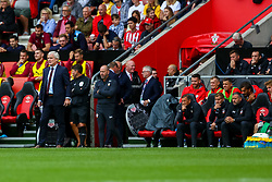 Southampton manager Mark Hughes - Mandatory by-line: Ryan Hiscott/JMP - 12/08/2018 - FOOTBALL - St Mary's Stadium - Southampton, England - Southampton v Burnley - Premier League