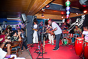 Havana, Cuba: playing at the Basement jazz club in Havana during the recent Plaza Jazz Festival there (Photo: Ann Summa).