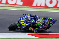 Valentino Rossi of Italy  and Movistar Yamaha MotoGP during the MotoGP Italy Grand Prix 2017 at Autodromo del Mugello, Florence, Italy on 4th June 2017. Photo by Danilo D'Auria.<br /> <br /> Danilo D'Auria/UK Sports Pics Ltd/Alterphotos