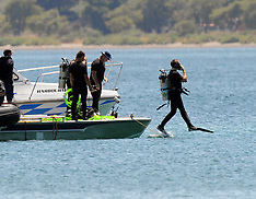 Taupo-Recovery of Skydive Taupo aircraft from lake begins