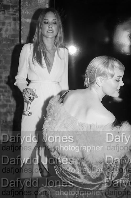 DAISY KNATCHBULL; COCO FENNELL, Glam Rock fashion shoot. 8 September 2016