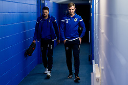 Liam Sercombe of Bristol Rovers and Tony Craig of Bristol Rovers arrives at St Andrews Stadium prior to kick off - Mandatory by-line: Ryan Hiscott/JMP - 14/01/2020 - FOOTBALL - St Andrews Stadium - Coventry, England - Coventry City v Bristol Rovers - Emirates FA Cup third round replay