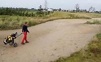 NIEUWVEEN - Golfclub Liemeer.Waste bunker op hole 1.   COPYRIGHT KOEN SUYK