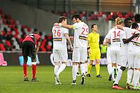 Joie Lille - Nolan ROUX - 08.03.2015 - Guingamp / Lille - 28eme journee de Ligue 1 <br /> Photo : Vincent Michel / Icon Sport