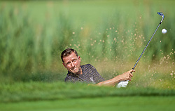 SOUTH BEND, INDIANA, USA - Wednesday, July 17, 2019: Liverpool's Ambassador Vladimír Šmicer plays golf at the Warren Golf Club at Notre Dame University on day two of the club's pre-season tour of America. (Pic by David Rawcliffe/Propaganda)