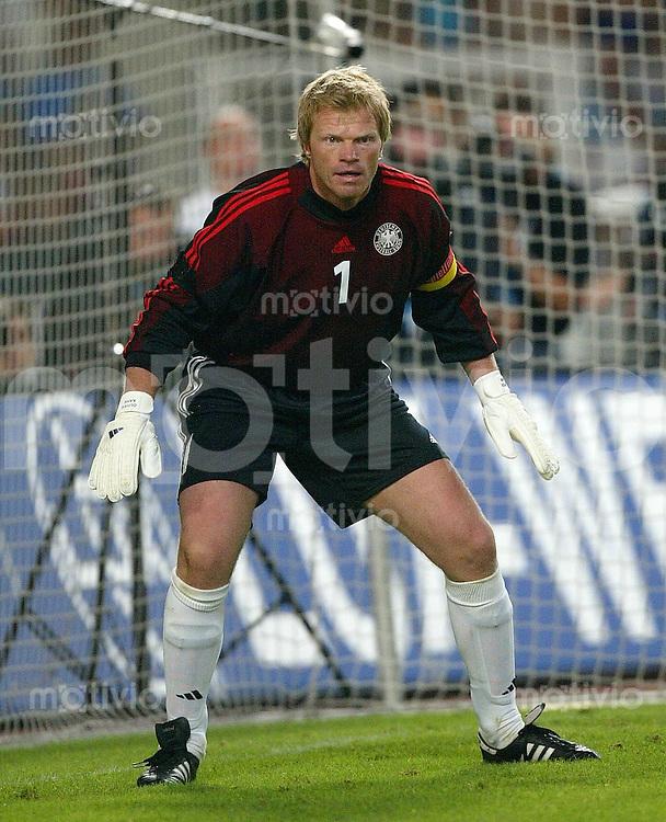 FUSSBALL International Testlaenderspiel/Freundschaftsspiel Deutschland 0-1 Italien Oliver Kahn (GER)