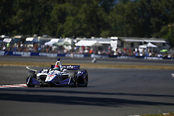 September 2, 2018 - Portland, Oregon, United Stated - PIETRO FITTIPALDI (19) of Brazil battles for position during the Portland International Raceway at Portland International Raceway in Portland, Oregon. (Credit Image: © Justin R. Noe Asp Inc/ASP via ZUMA Wire)