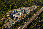 Aerial view of the Roper Hospital in Mt Pleasant, SC
