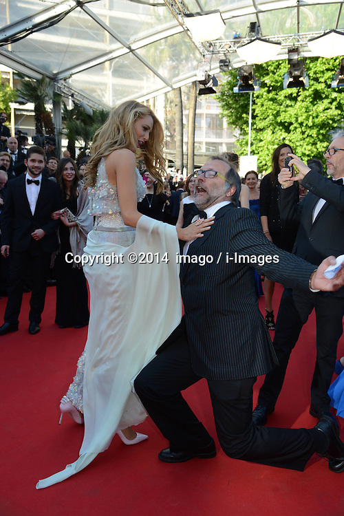 61529841<br /> US actress Blake Lively arrives for the screening of Mr Turner during the 67th Cannes Film Festival, in Cannes, France, Thursday, 15th May 2014. Picture by  imago / i-Images<br /> UK ONLY
