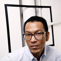 Thai director Pen-ek Ratanaruang at the 62th Cannes Film Festival. France. 20 May 2009. Photo: Antoine Doyen