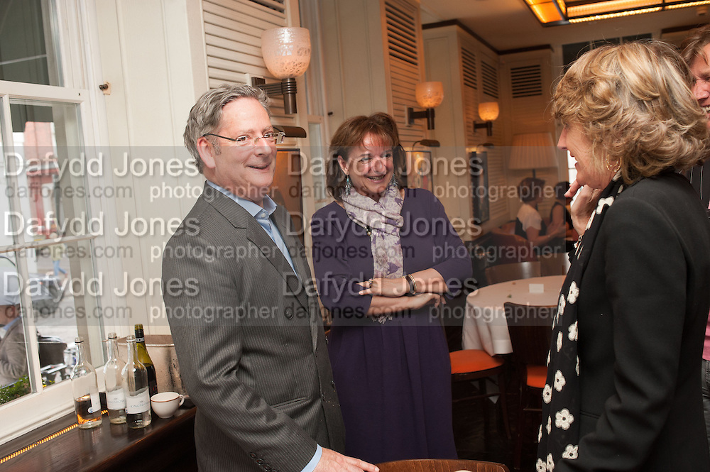 DOMINIC LAWSON; ROSA MONCKTON, Vanity Fair Lunch hosted by Graydon Carter. 34 Grosvenor Sq. London. 14 May 2013