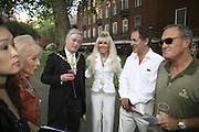 Councillor Alexander Nicoll Lord Mayor of Westminster, Irene Kay and Mike Cooper. The Big Splash! Summer Party, The Residents' Society Of Mayfair & St James's Summer Party, Mount Street Gardens, London, W1, 12 June 2006. ONE TIME USE ONLY - DO NOT ARCHIVE  © Copyright Photograph by Dafydd Jones 66 Stockwell Park Rd. London SW9 0DA Tel 020 7733 0108 www.dafjones.com