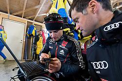 Behind the scenes, GER, Biathlon Pursuit, 2015 IPC Nordic and Biathlon World Cup Finals, Surnadal, Norway