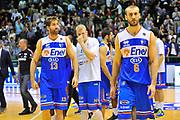 DESCRIZIONE : Campionato 2013/14 Dinamo Banco di Sardegna Sassari - Enel Brindisi<br /> GIOCATORE : Miroslav Todic David Chiotti Martin Jurtom<br /> CATEGORIA : Ritratto Delusione<br /> SQUADRA : Enel Brindisi<br /> EVENTO : LegaBasket Serie A Beko 2013/2014<br /> GARA : Dinamo Banco di Sardegna Sassari - Enel Brindisi<br /> DATA : 11/05/2014<br /> SPORT : Pallacanestro <br /> AUTORE : Agenzia Ciamillo-Castoria / Luigi Canu<br /> Galleria : LegaBasket Serie A Beko 2013/2014<br /> Fotonotizia : Campionato 2013/14 Dinamo Banco di Sardegna Sassari - Enel Brindisi<br /> Predefinita :