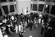 18/09/1967<br /> 09/18/1967<br /> 18 September 1967<br /> Mr Paul A. Fabry, Managing Director, International House, New Orleans, Reception for New Orleans Delegation at the United States Embassy, Dublin. A general view of the gathering.